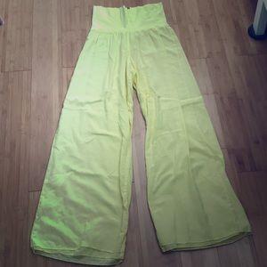 Hard Tail Neon Yellow Pants